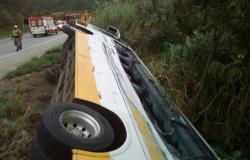 Grave colisão entre carreta e ônibus deixa 03 mortos e 30 feridos