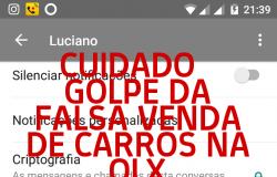 Cuidado: golpe da venda de carro na OLX já fez várias vítimas nas Capitais e interior do Brasil