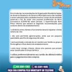 Serviços delivery em Chapada dos Guimarães, fique em casa com entrega garantida e promoções.