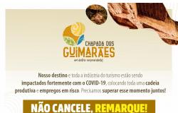 Chapada dos Guimarães mobilizada contra covid - 19.