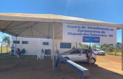 Secretaria Municipal de Saúde em Chapada dos Guimarães abre as portas do Centro de Atendimento ao Covid 19.