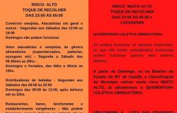 Chapada dos Guimarães adota a Quarentena Obrigatória Coletiva
