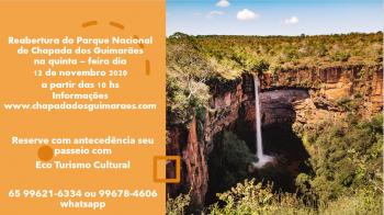 Parque Nacional de Chapada dos Guimarães reabre dia 12 de novembro de 2020 à partir das 10h