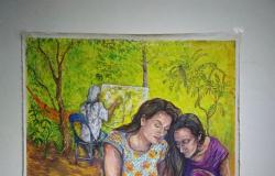 Exposição 'Entrelaços' até 6 de junho com trabalhos de Ângela Godinho e Fabrícia Campello na Casa di Rose