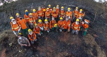 SOS Pantanal treinou brigadas para evitar incêndios durante período da seca de 2021