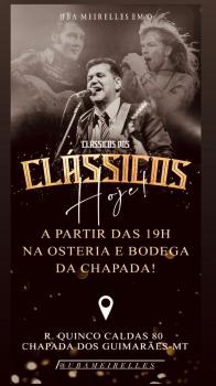 Clássico dos clássicos - Osteria e Bodega da Chapada
