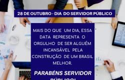 Parabéns Servidor Público