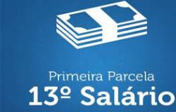 1ª parcela do décimo terceiro salário dos servidores será paga este mês