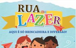 Três dias repletos de diversão: Férias na Biblioteca e Rua de Lazer prometem agitar as tardes da criançada
