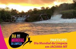 Prefeitura e parceiros se unem para o Dia Mundial da Limpeza em Jaciara