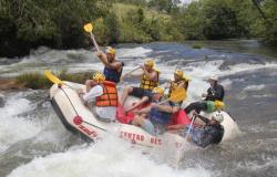 """Jaciara """"a capital da aventura"""" celebrará 61 anos com Campeonato de Rafting Amador"""