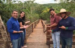 Prefeitura deverá inaugurar passarela suspensa na região da Cachoeira da Mulata nos próximos dias