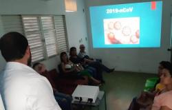 Profissionais do Hospital Municipal de Jaciara são capacitados para o novo coronavírus