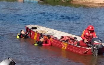 Jovem de Rondonópolis está desaparecido no Rio São Lourenço em Juscimeira
