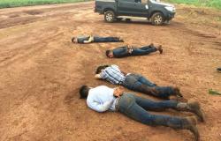 Conheça os cinco traficantes presos neste domingo pela Polícia Federal em Tangará da Serra