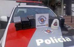 Fuzileiros navais são presos com 30 kg de cocaína
