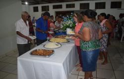Jantar dos idosos realizado pela secretaria de ação e promoção social de Denise