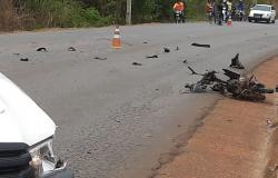 Motociclista morre em violento acidente em rodovia de Diamantino.