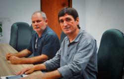 Prefeitos eleitos de Tangará da Serra Vander Masson e Jose Elpidio de Nova Olimpia, são diplomados pela Justiça Eleitoral.