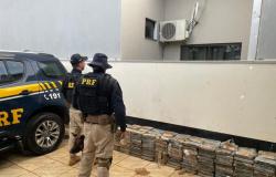 Motorista é preso em Sapezal com 435 kg de cocaína que seriam levados até SP.