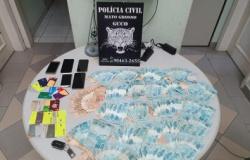 Quadrilha é presa após golpe de R$ 170 mil em Cuiabá.
