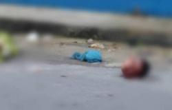 Moradores encontram cabeça de homem jogada no meio da rua.