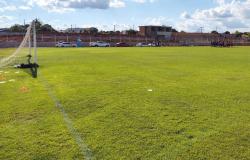 Reformas em estádio do Nova Mutum estão em andamento; cerca de R$ 2 milhões investidos