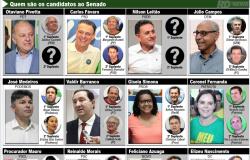 12 são lançados ao Senado; esquerda, agro, família e bala representados
