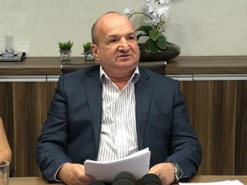 Luiz Binotti (PSD), prefeito de Lucas do Rio Verde — Foto: Prefeitura de Lucas do Rio Verde/Divulgação