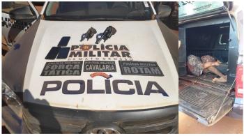 Assaltantes que assassinaram comerciante em SJRC, vem a óbito em confronto com a PM
