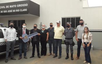 Nova delegacia é construída com união de instituições públicas e sociedade em São José do Rio Claro