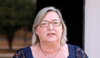 Secretária de Educação, Elena Maria Maass.