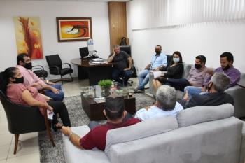Deputado Dilmar Dal`Bosco destaca visita de vereadores Rio clarenses em Cuiabá