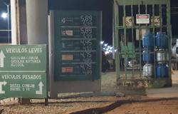 Com altas sucessivas, combustível em São José chega a R$ 5,89 nas bombas
