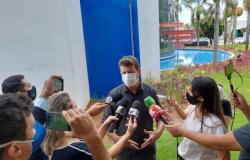 Prefeito de Sorriso participa de protesto junto com comerciantes contra lockdown