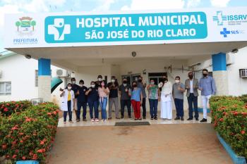 Cooperativa Sicredi faz entrega de equipamentos e insumos para a saúde pública de São José do Rio Claro