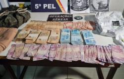 PM recupera mais R$ 45 mil roubados por ladrões em MT