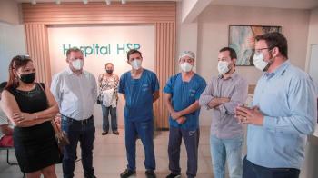 Mutum: prefeito e vereadores vistoriam instalações de hospital regional que receberá mais pacientes