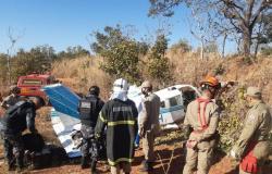 Avião cai por falta de combustível em Mato Grosso; 4 feridos; diretor de UPA em estado grave