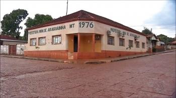 Cidade de MT é a terceira menor do Brasil e uma das quatro com menos habitantes