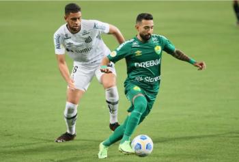 Cuiabá vence o Santos por 2 a 1 e chega ao 9º lugar na tabela