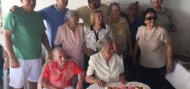 Família Coutinho festeja os 98 anos de sua matriarca Hermínia (ZILZA)