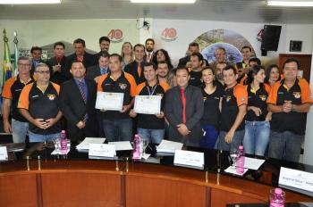 Estradeiros da Serra recebem elogio pela realização do 8º Moto Encontro