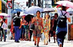 Calor e Sol forte vão predominar durante os últimos dias de julho