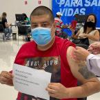 hauahuahauhauhauahhauhauahuahuahauhuJornalistas de Cuiabá são vacinados contra Covid-19