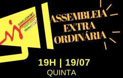 Assembleia geral decide sobre fechamento do Sindjor