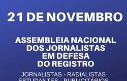 Comunicadores se reúnem em Cuiabá nessa quinta-feira, 21/11, para debater MP que derruba o registro profissional