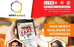 Sindjor e MP debatem fake news  hoje à tarde (terça, 04)