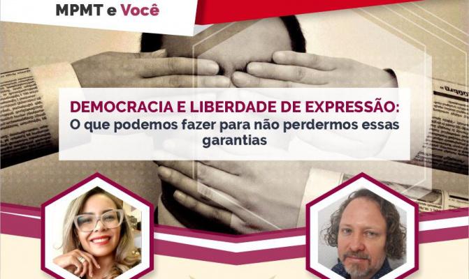 Sindjor-MT propõe criação de Frente em Defesa da Democracia; confira íntegra da live com o MP