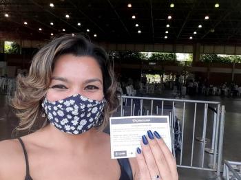 Jornalistas de Cuiabá são vacinados contra Covid-19